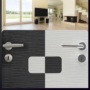 portes grav es avec technidecor huet fiches produits. Black Bedroom Furniture Sets. Home Design Ideas