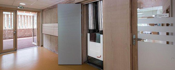 ZEHNDER - Ventilation double flux - Pour l'école passive et à énergie positive de Saint-Antonin-Noble-Val