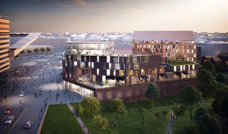 Le projet du mois - SWAM, ensemble multifonctionnel - Nouveau lieu magnétique à Lille !
