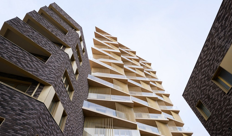 Le projet du mois - Origami XXL - Polyphonie architecturale dans le nouveau quartier Clichy-Batignolles