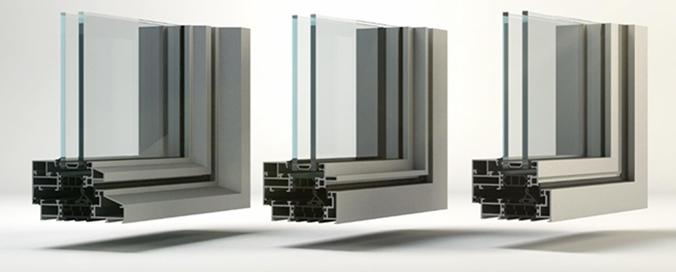 REYNAERS ALUMINIUM FRANCE - SlimLine 38, fenêtre aluminium allure acier - Système aux profilés d'une finesse exceptionnelle