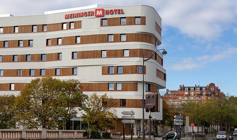 Le projet du mois - 1er hôtel MEININGER en France - COVIVIO inaugure le 1er hôtel MEININGER en France à Paris, porte de Vincennes
