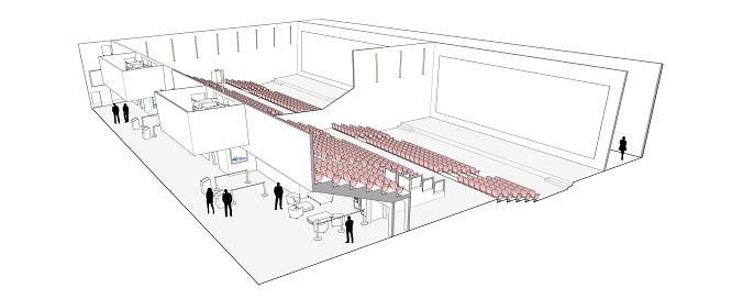 PLACOPLATRE - Système Cinestil® - Cloisons acoustiques grande hauteur pour les cinémas et les salles de spectacles