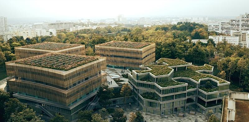 Le projet du mois - Open Source Campus à Nanterre (92) - Régénération architecturale et urbaine de l'ancienne Ecole d'Architecture de Nanterre