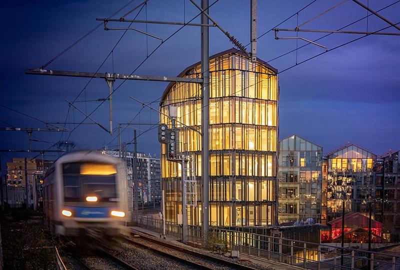Le projet du mois - Structure mixte bois-béton pour les futurs bureaux de l'Urssaf, Paris 19 - Au coeur du parc tertiaire du Pont de Flandre, un projet signé par l'architecte Anne Carcelen