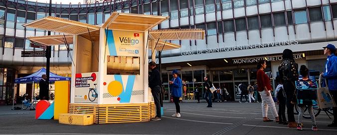 PICNIC - PICNIC Architecture - Kiosques et pop-up stores nomades autonomes et connectés