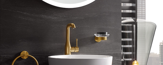 GROHE - Gamme d'accessoires couleur - La touche finale de raffinement de salle de bains