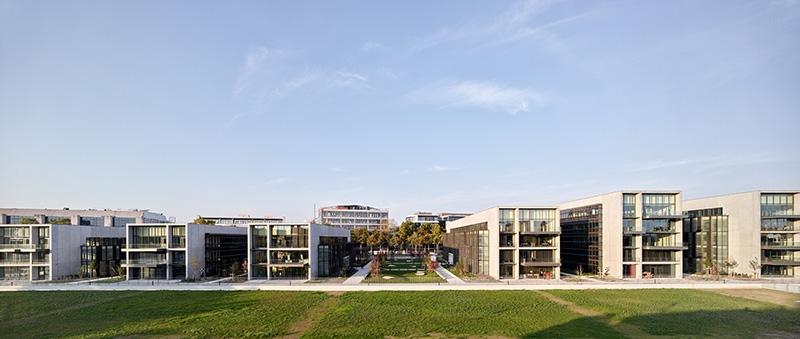 Le projet du mois - Les Jardins du Lou à Lyon par AIA Life Designers - Un parc de bureaux qui offre un cadre de vie favorable au bien-être et à la santé
