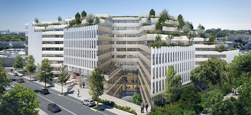 Le projet du mois - Grand Air à Chatillon (92) par SRA Architectes - Une démarche conceptuelle singulière