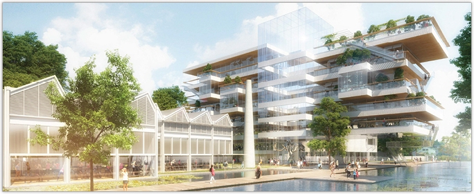 SOPREMA - Découvrez Le Grand Charles ! - Le projet du nouveau siège social du Groupe SOPREMA à Strasbourg