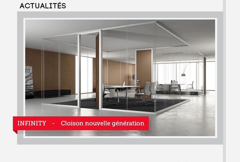 INFINITY - Cloison nouvelle génération