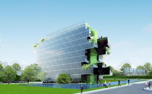 NOXA N°2 à Saint-Herblain (49) - Immobilier tertiaire avec le Groupe NOX et LIGHT ARCHITECTURE