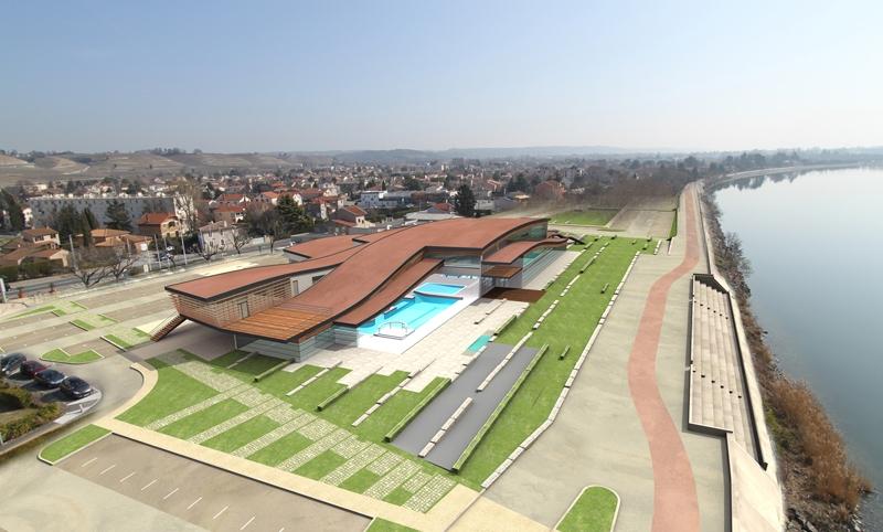 Le projet du mois : Le futur centre aquatique découvrable de Tain-l'Hermitage