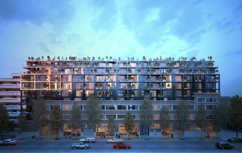 Le projet du mois : Rue Ordener à Paris par l'agence Martin Duplantier Architectes