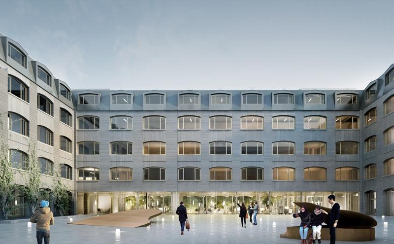 Le projet du mois : Rénovation du siège de la CNAV, Paris