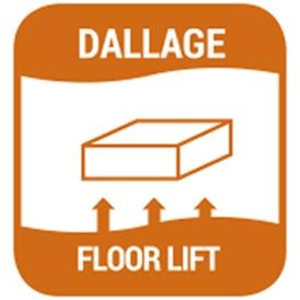 URETEK - Floor Lift® - Stabilisation et relevage de dallages