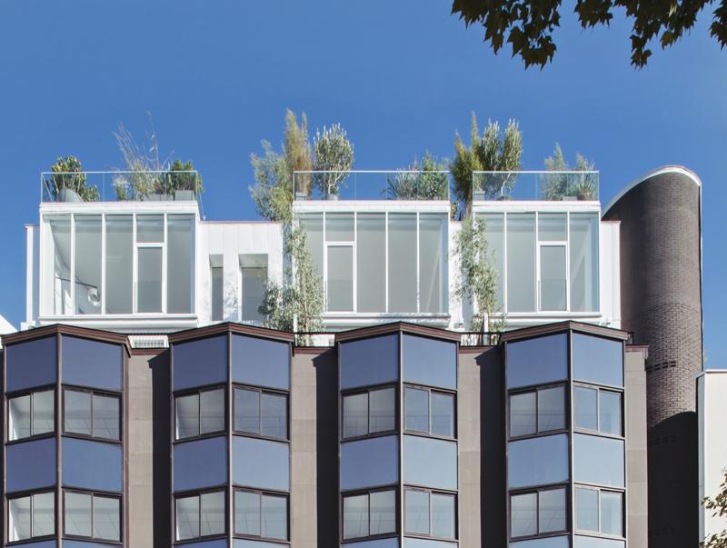 Le projet du mois : 4 maisons sur le toit d'un immeuble de bureaux à Boulogne-Billancourt (92)