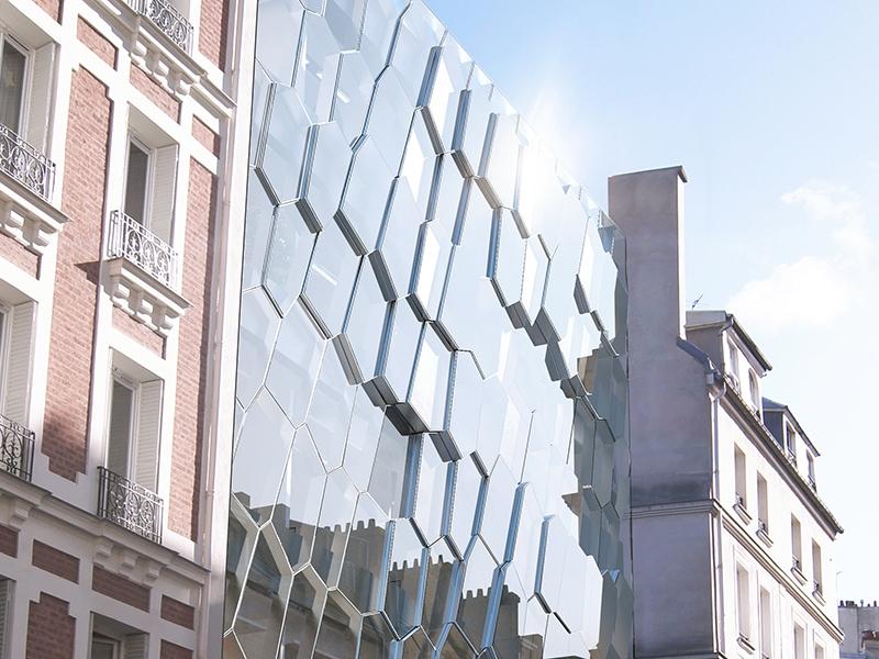 Le projet du mois : Les anciens locaux de l'ébénisterie Krieger construits en 1909 réhabilités pour accueillir l'Institut de l'Audition (Paris 12)