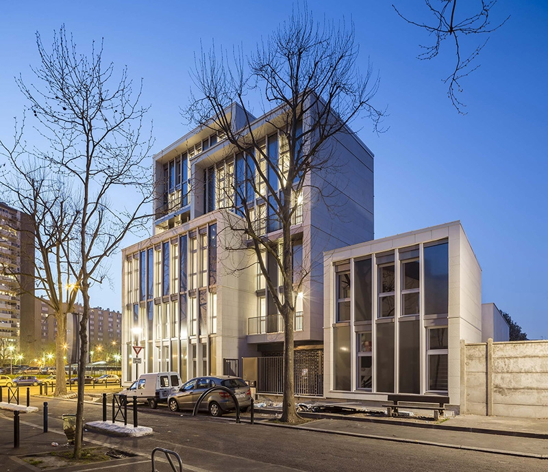 Le projet du mois : Pop Ub Building - 18 logements sociaux en bois à Aubervilliers