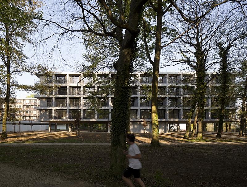 Le projet du mois : Réhabilitation et extension du parc résidentiel HEC à Jouy-en-Josas (78) - Plus de 1000 logements étudiants