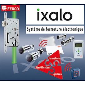 FERCO SAS - Système de contrôle d'accès IXALO - Les avantages d'un organigramme mécanique avec ceux d'un contrôle d'accès électronique