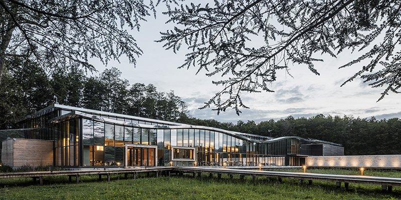 Le projet du mois - Domaine de La Voisine - Pernod Ricard University - Cyril Durand-Behar Architectes signe la réalisation du premier campus Pernod Ricard University au cour de la Vallée de Chevreuse (78)