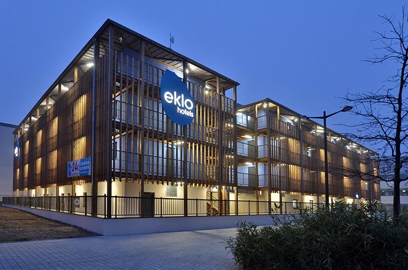 Le projet du mois - Nouvel hôtel Eklo à Lille par Patriarche - Innover et bousculer les standards de l'hôtellerie pour mieux accueillir les voyageurs d'aujourd'hui