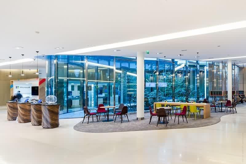 Le projet du mois - Upgrade my campus ! Le renouveau du campus Microsoft - Par STUDIOS Architecture à Issy-les-Moulineaux (92)
