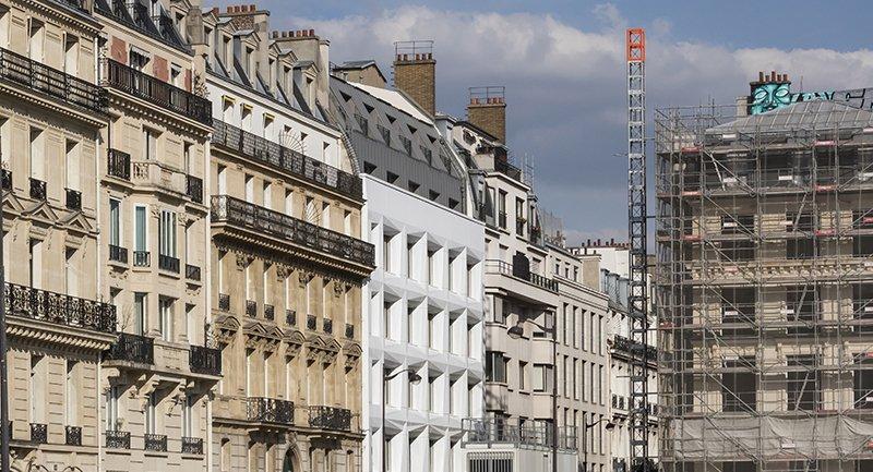 Le projet du mois - Le SHIFT au 54 rue de Londres, Paris - Un ensemble immobilier repensé et rénové par AXEL SCHOENERT ARCHITECTES