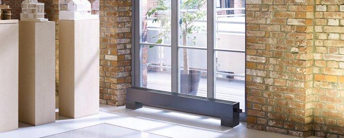 ZEHNDER - STANA, nouvelle gamme de convecteurs plinthes - Design et personnalisables pour bâtiments tertiaire