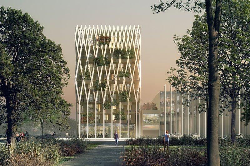 Le projet du mois - Palazzo Nice Méridia, Nice - Un projet éco-responsable, une mutation douce du territoire, entre ville et nature