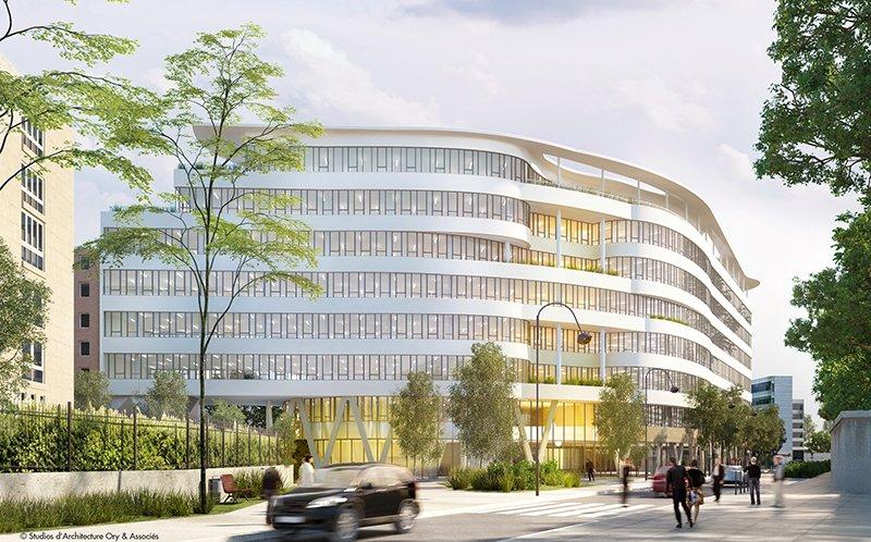 Le projet du mois - CONVERGENCE, futur siège du groupe DANONE - Les Studios d'architecture ORY et associes signent l'architecture du plus grand siège du groupe Danone