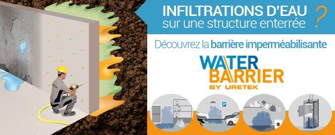 URETEK - Water Barrier® - Imperméabilisation de structures enterrées