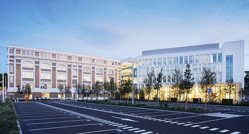 Le projet du mois - La Banque de France inaugure son nouveau site à la Courneuve - Réhabilitation lourde de deux bâtiments de l'ancienne usine Babcock Wilcox et construction d'un bâtiment fiduciaire haute sécurité